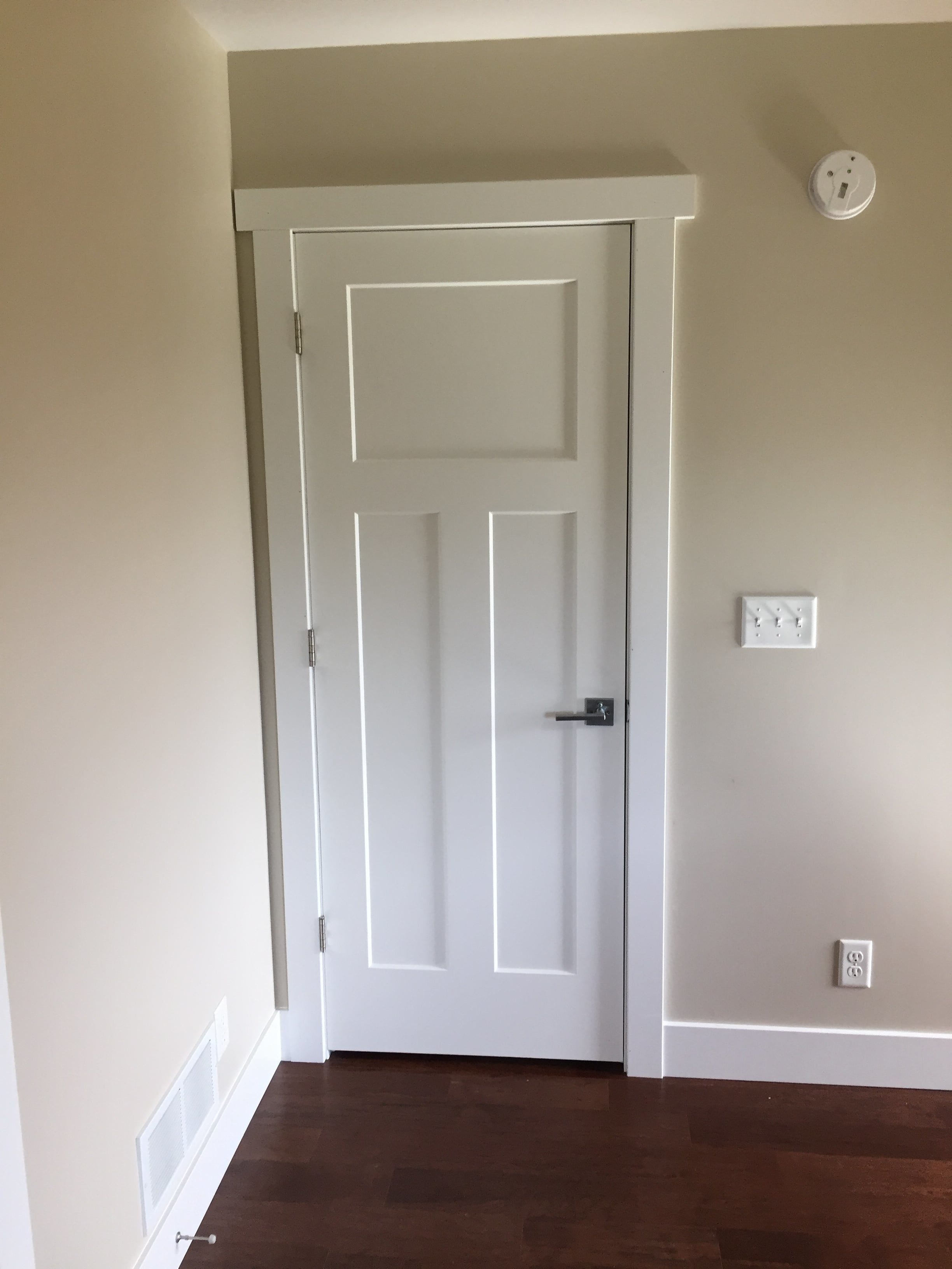 Installing a pre-hung door can be a daunting task for someone who has never installed a door before and can still be extremely frustrating for an ... & How to Install a Pre-Hung Interior Door | EZ-Hang Door