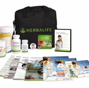 using the Herbalife products
