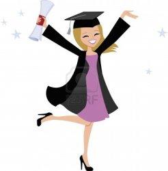 cartoon graduate graduated august turned god well around very