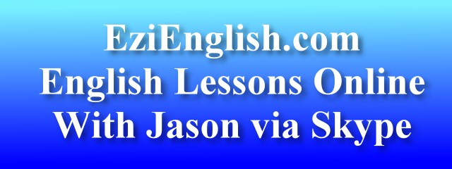 Online English Tutor. Practice Your Spoken English Online with Jason