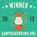 Camp-NaNoWriMo-2013-Winner-Lantern-Square-Button