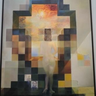 Dali Abe woman painting