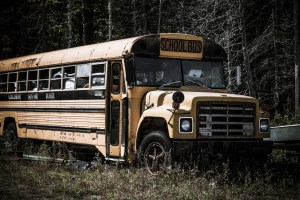 abandoned-school-bus-Petr Kratochvil