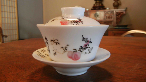 The gaiwan, covered tea cup