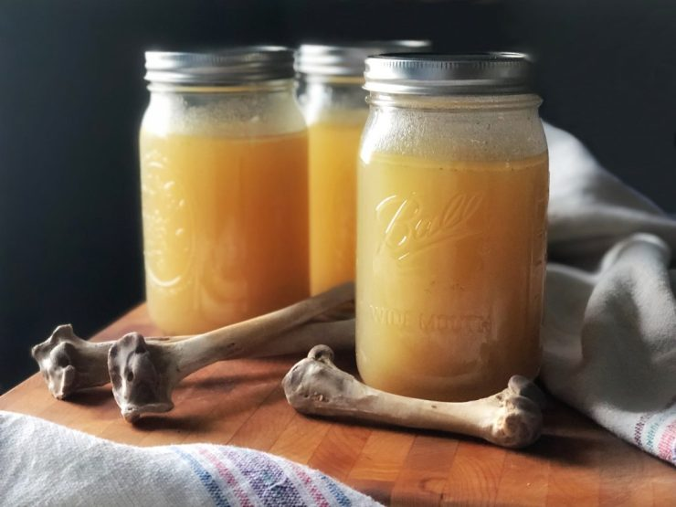 Affordable Homemade Chicken Bone Broth