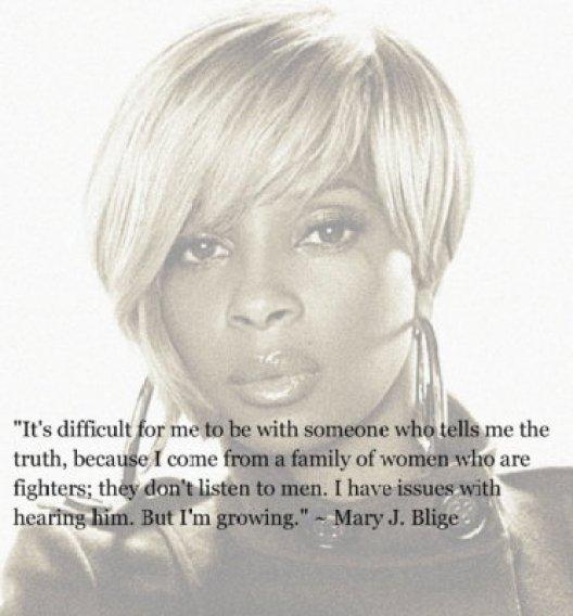 MARY J BLIGE ON LOVE