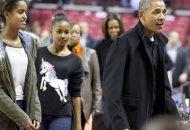 Barack Obama, Michelle Obama, Sasha Obama, Malia Obama, Marian Robinson