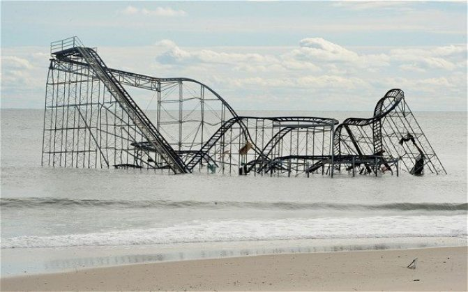 Climate Change - New Jersey after Hurricane Sandy