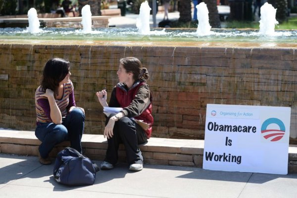 Obamacare working