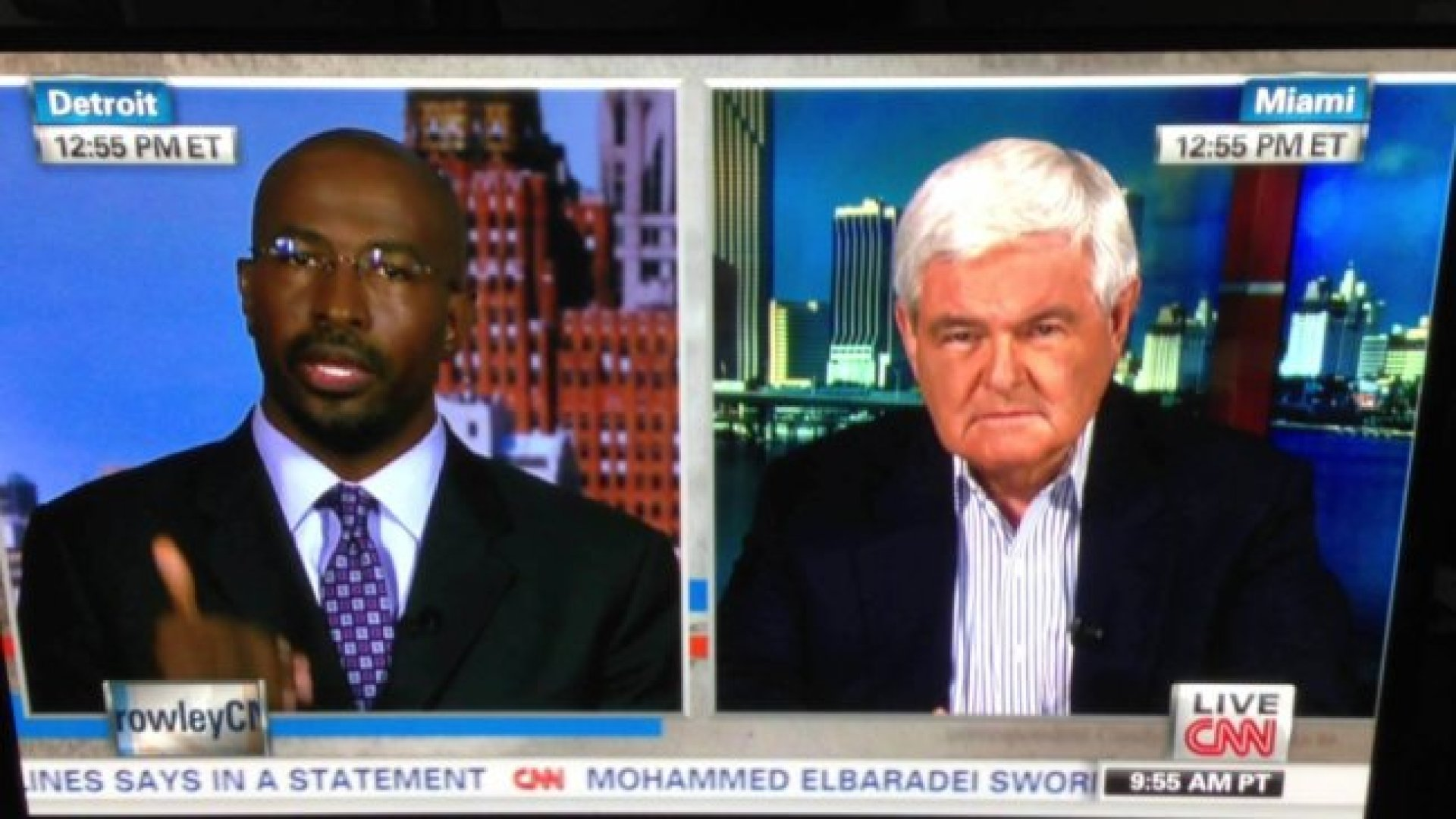 van jones and newt