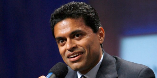 ** FILE ** In this Thursday, Sept. 27, 2007 file photo, journalist Fareed Zakaria moderates a panel discussion on Latin America and globalization during the Clinton Global Initiative Annual Meeting in New York. CNN is starting a weekly talk show on international issues led by Newsweek's Zakaria that will debut next Sunday with former British Prime Minister Tony Blair as an interview subject. (AP Photo/Jason DeCrow)