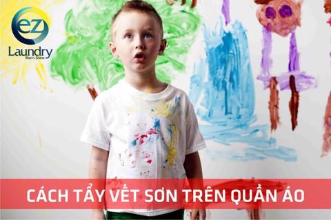 Tẩy vết sơn trên quần áo khó hay dễ?