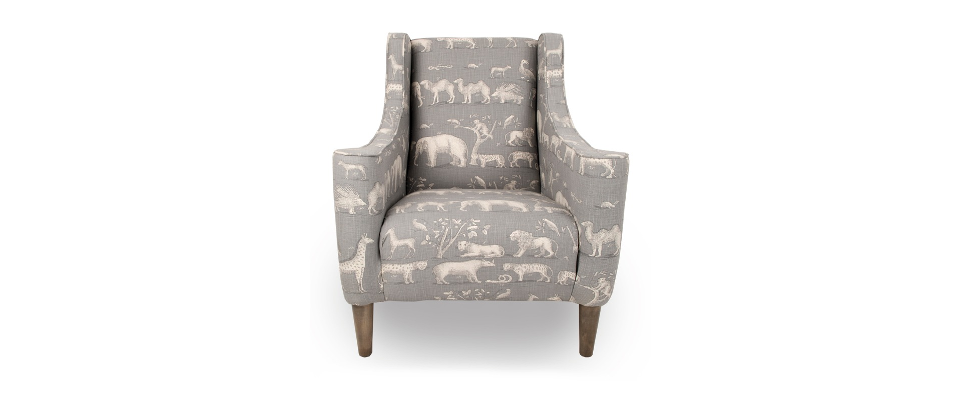 Wing Chair Icon Fabric Wing Chair
