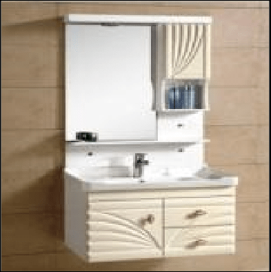 La Cera La K1018 Wall Hung Mount Cabinet With Shelf Ceramics Basin White Online Karachi Ezmakaan