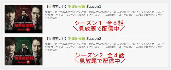 犯罪症候群 Season1・2