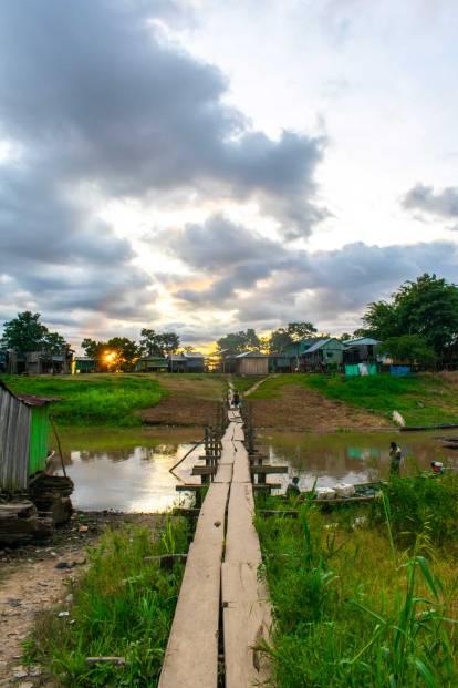 Leticia, Colombia River