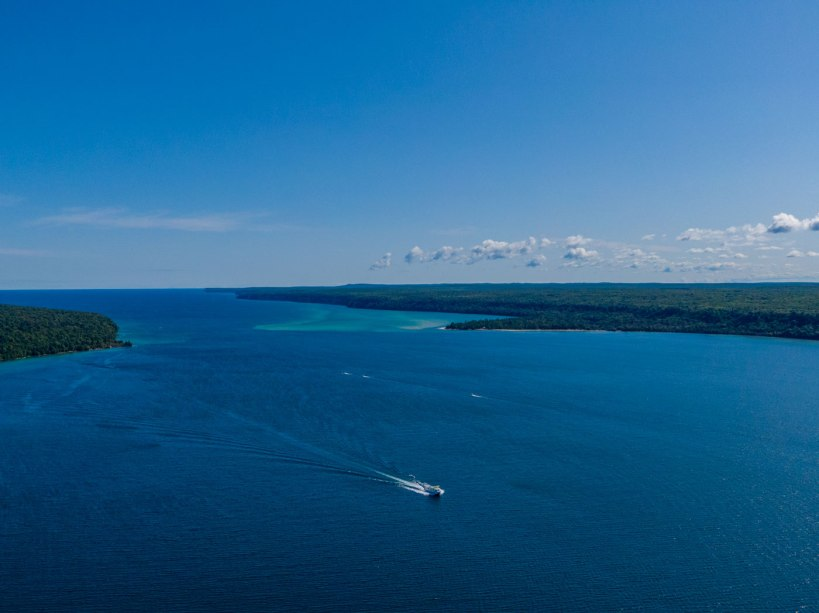 Munising Pictured Rock Cruises, Northern Michigan
