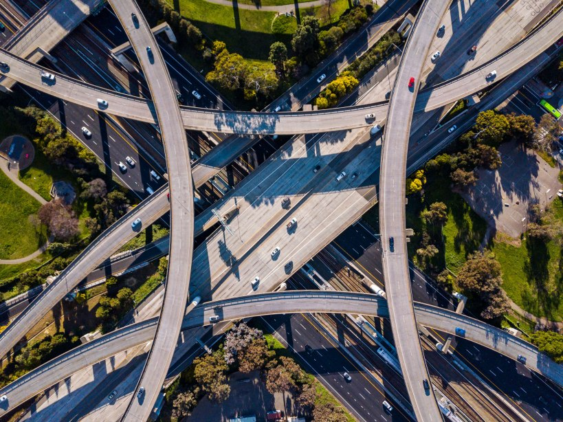 oakland drone photography