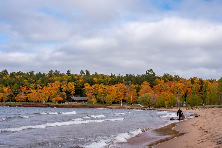 Chasing Fall Colors: Marquette, Michigan