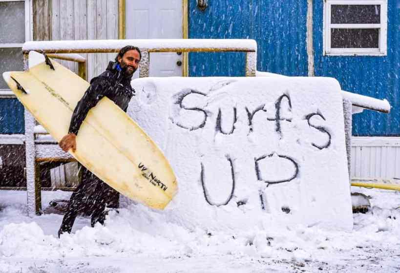 Surfer Dan - michigan surfing