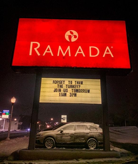 Ramada Marquette, MI