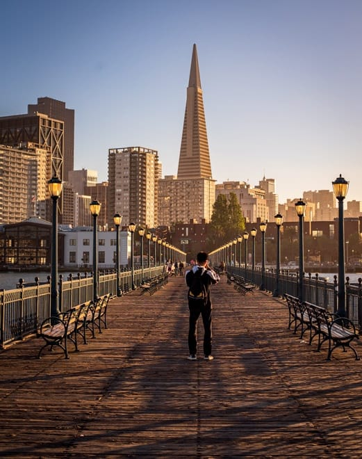Sunsets in San Francisco