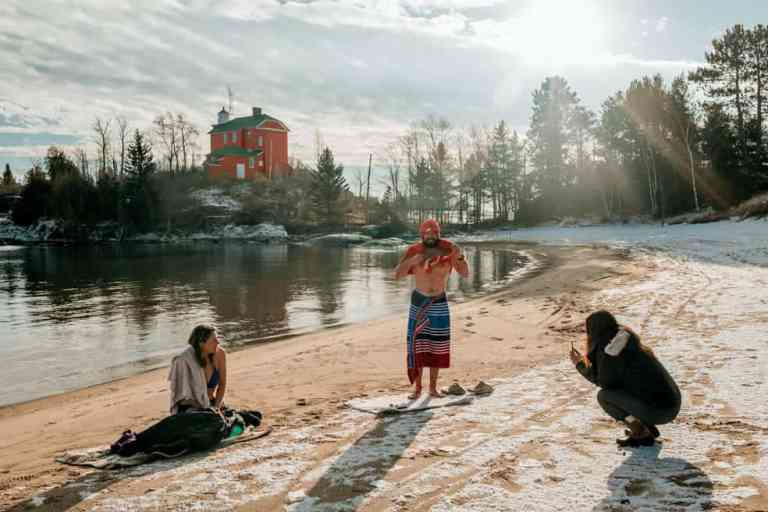 Cold Water Therapy in Lake Superior: Try it Now