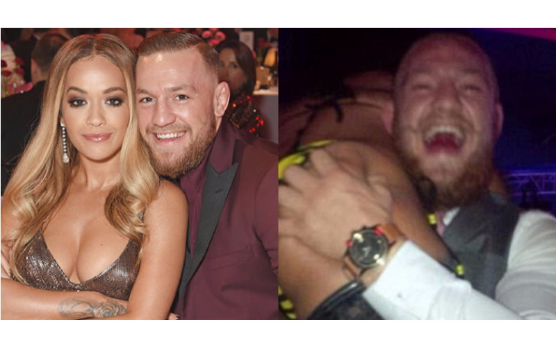 果然也受不了誘惑Conor McGregor 開始拈花惹草調情辣模和 Rita Ora 網友為正宮抱不平