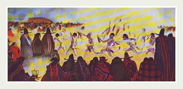 Танцы индейцев Новахо