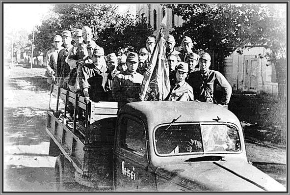 Нападение на Перл Харбор машина с японцами