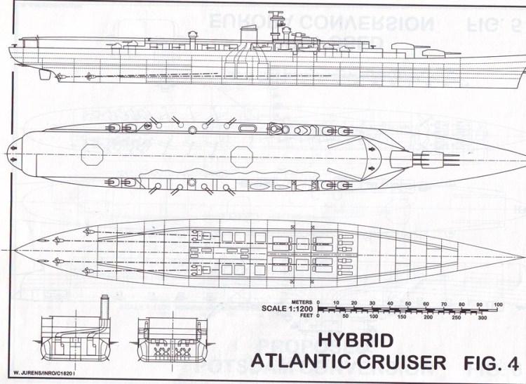 План атлантического авианесущего крейсера