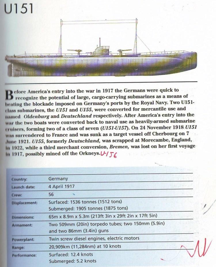 U151 Подводная лодка U-151