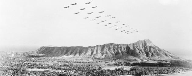 Нападение на Перл Харбор. Японская авиация вылетает с Тайваня