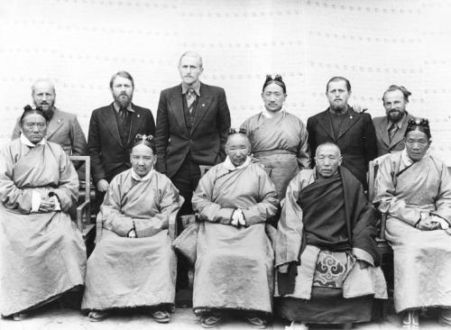 Lhasa, Expedition mit den tibetischen Ministern