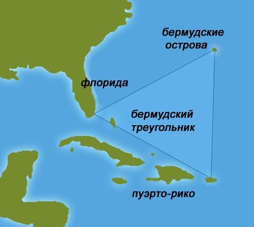 Бермудском треугольнике
