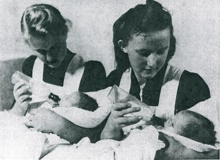 лебенсборн кормление детей