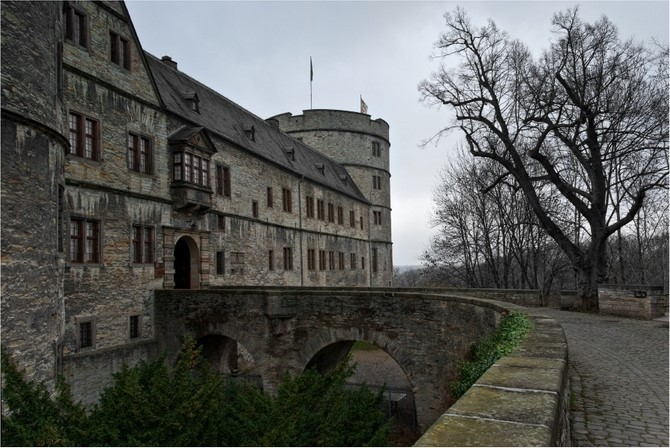 Вевельсбург замок