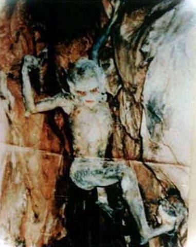 """Фото внеземных существ из московской подземки """"хохрик"""""""