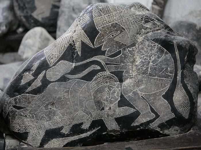секс древних. Камни Ика