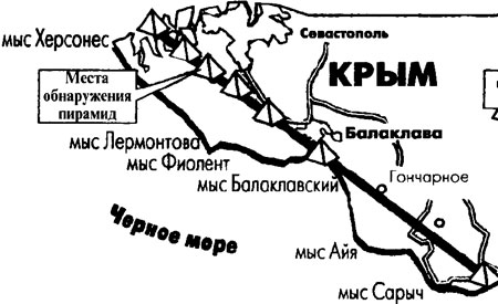Пирамиды в Крыму. экспедиция Барченко