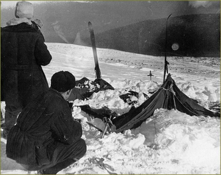 палатка группы дятлова. Снежный человек перевал Дятлова