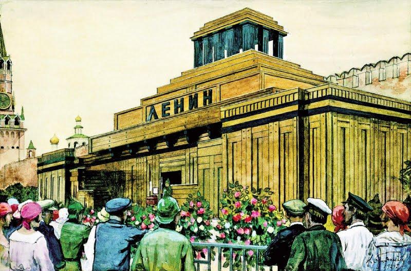 Мавзолей Ленина. Зиккурат в центре Москвы
