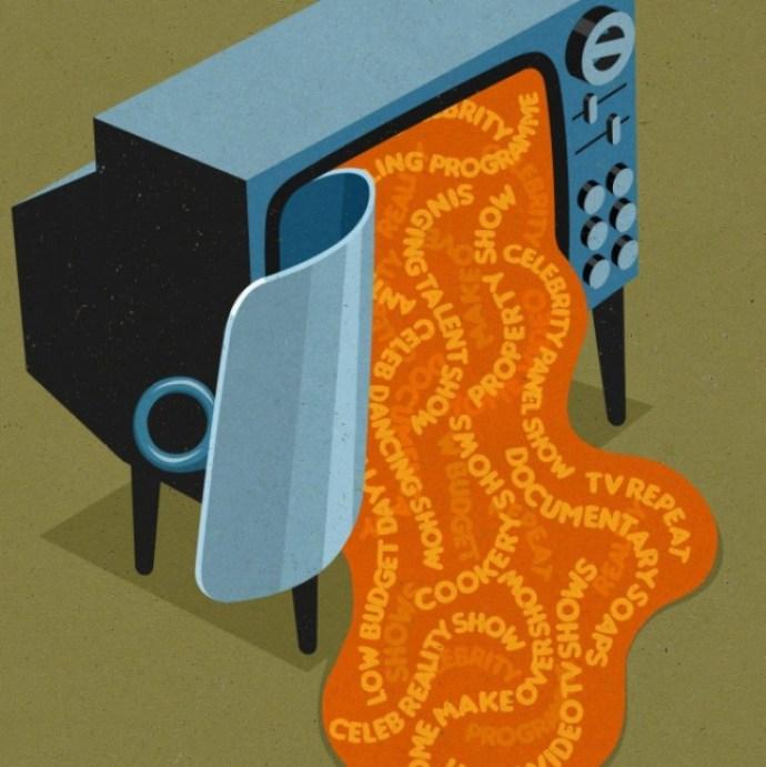 Современное рабство телевизор