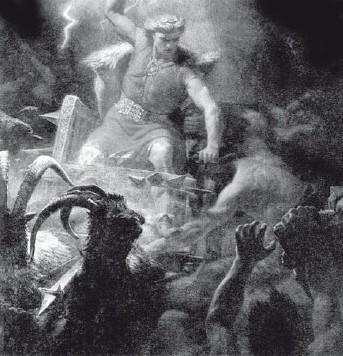 бог тор скандинавская мифология