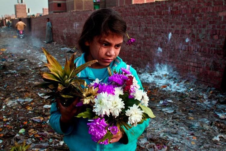 Копты девочка из Каира