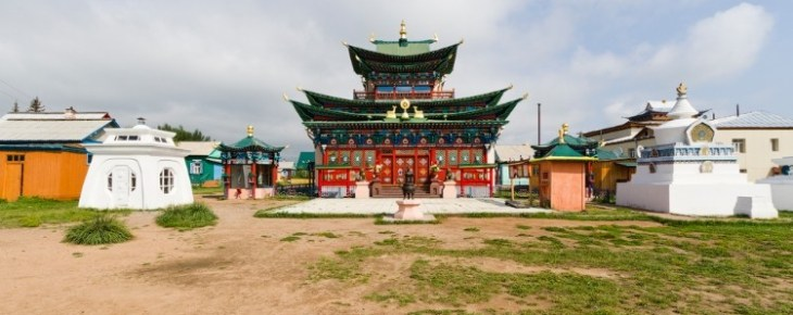 Дворец Хамбо ламы Итигэлова Пандито Хамбо-лама XII Даши-Доржо Итигэлов