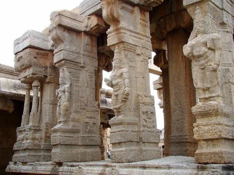 тайны азии. висячие колонны