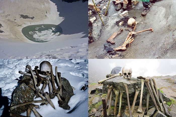Роопкунд загадочное озеро скелетов в Гималаях