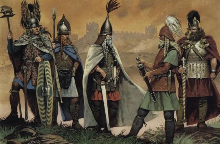 Кельтские сапоги со славянским орнаментом