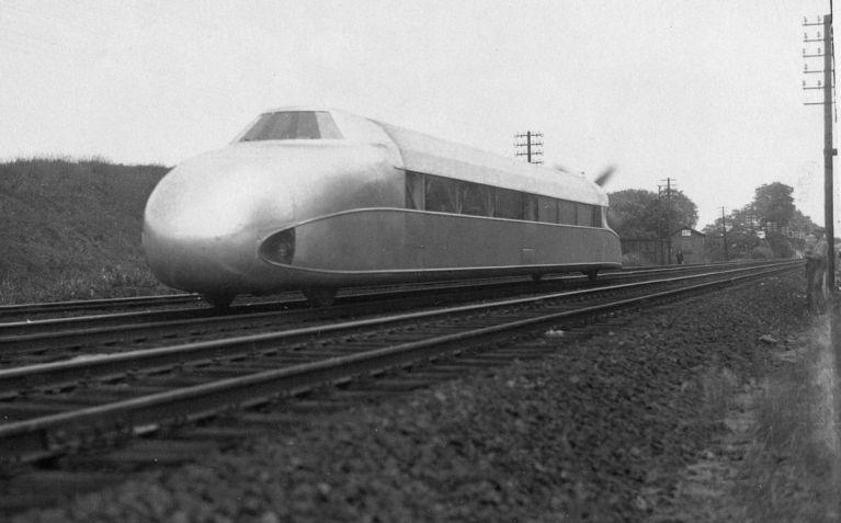 Поезда на магнитной подушке изобретение начала века